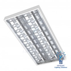 VLS YLI OS YML - T8 LED Mirror Fitting Type S ( Surface Ceiling Mounted )